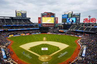 Citi Field in New York hosted an all-star Twenty20 match in 2015.
