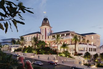 An artist's impression of the InterContinental Sorrento, which will open in November.