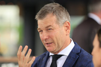 Kris Lees brings the rising filly No Laughing Matter to Wyong on Wednesday.