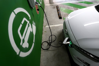 Electric vehicles represent only 0.6 per cent of Australian car sales.