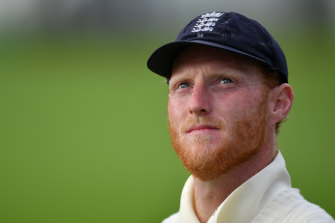 """The England and Wales Cricket Board said Ben Stokes, pictured, had shown """"tremendous courage""""."""