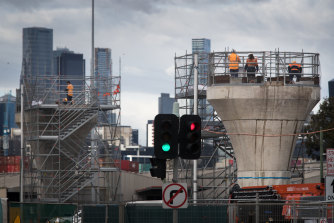 The cost of the West Gate Tunnel project has again blown out.  It is currently expected to cost $10 billion.