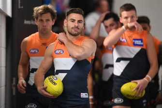 Stephen Coniglio's difficult first year as GWS Giants captain has been laid bare in an Amazon Prime documentary.