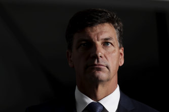 Federal Energy and Emissions Reduction Minister Angus Taylor: The government expects to reach an emissions target before the Glasgow summit.