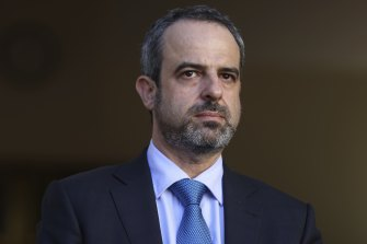 Unimpressed: AMA president Dr Omar Khorshid has struck a cautious tone at the tweaks to NSW's road map.