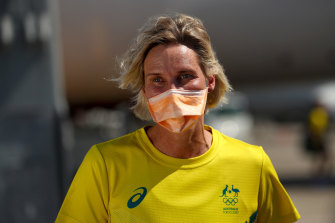 Susie O'Neill is now Australia's deputy chef de mission at the Tokyo Olympics.