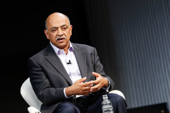Arvind Krishna was recently promoted to CEO of IBM.
