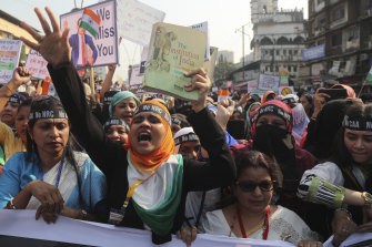Protests against the new citizenship law have swept across India.