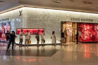 Louis Vuitton, well known for its high priced handbags, claimed $6 million in JobKeeper.