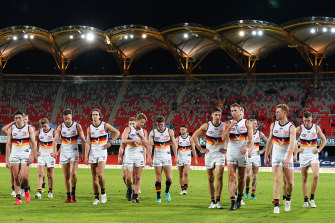 The South Australian government decision has thrown a spanner in the works for the AFL fixture.