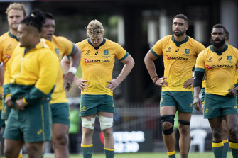 Coach Dave Rennie will expect plenty more from his Wallabies when the series resumes in Sydney on Saturday week.