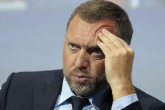 Russian aluminium magnate Oleg Deripaska, the subject of US sanctions.