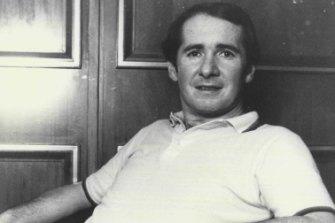 The real John Reid at Sydney's Sebel Town House in 1984.