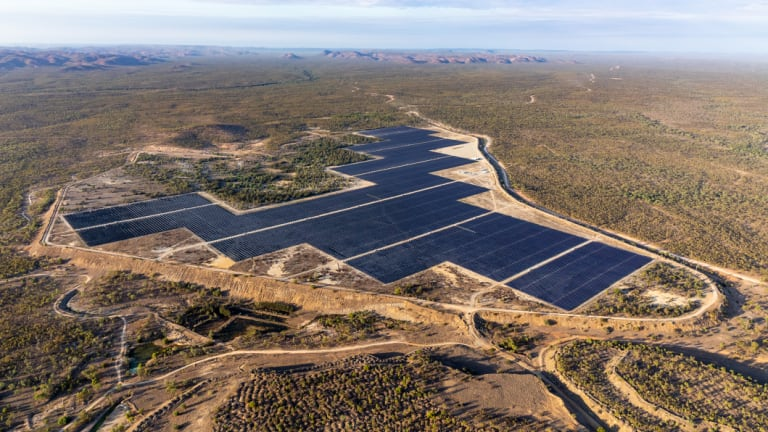 Remote solar farms are having to find unique financing methods to connect to the grid.