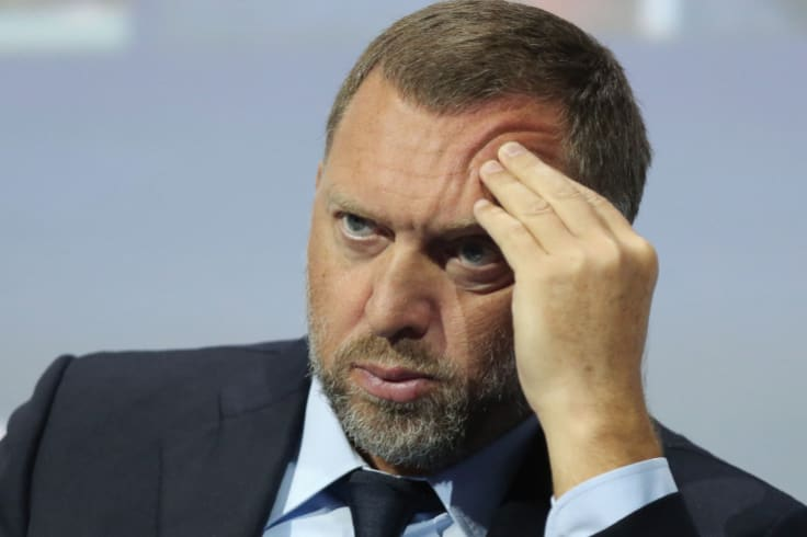 Russian aluminium magnate Oleg Deripaska, the subject of US sanctions.