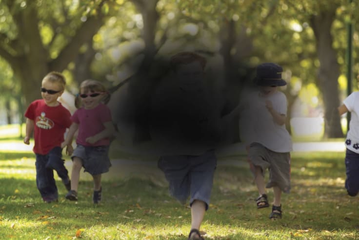 Macular degeneration leaves people relying heavily on peripheral vision.