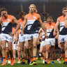'Beat up': Carey dismisses talk of Giants' supposed MCG curse
