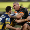 NRL 2020 LIVE: Parramatta host Wests Tigers in Bankwest grudge match