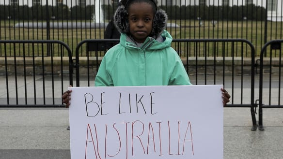'Be like Australia': US teenager's message to Donald Trump