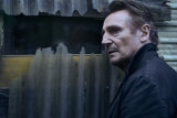 Liam Neeson as Travis Block in the film Blacklight.