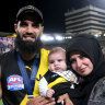 'It popped': Houli played out grand final despite calf injury
