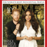 Harry and Meghan make the cover of Time's most influential people