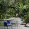 The secret to designing a satisfying small garden? Go big