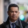 Trucking boss pleads not guilty to manslaughter over Eastern Freeway crash deaths