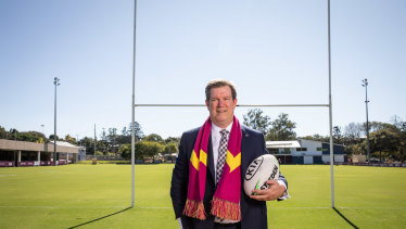 Broncos chairman Karl Morris will deliver an address to frustrated shareholders at the AGM on Tuesday.