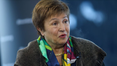 """""""Global growth in 2020 will dip below last year's levels, but how far it will fall and how long the impact will be is still difficult to predict"""": IMF chief Kristalina Georgieva."""