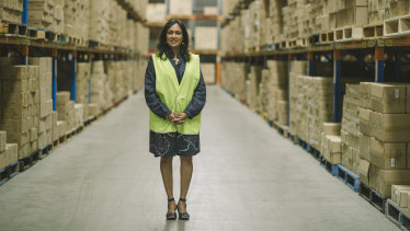 Nadika Garber is the managing director of Hinkler Books, which supplies Aldi's special buys.