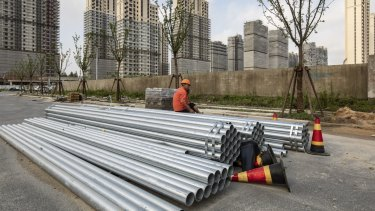 China has been cracking down on its property developers.