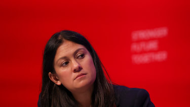 Would kick Australia out of the G7 over climate inaction: Lisa Nandy, British Labour foreign affairs spokeswoman, in Brighton, England, on Monday.