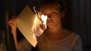 Florence Pugh as Amy in Little Women.