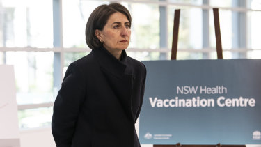 NSW Premier Gladys Berejiklian says people can take their time in deciding whether to have the COVID-19 jab.