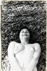 Pat Larter in a still from 'Armpats', 1979, from the Pat Larter archive.