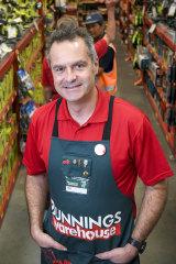 Bunnings' managing director Mike Schneider.