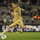 Looking elsewhere: Matt Jurman is in talks to leave Western Sydney Wanderers.