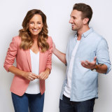 Harmonious: Tommy Little says his Project co-hosts all get along, and he's no Carrie Bickmore.