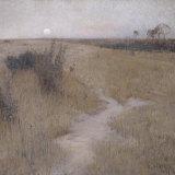 David Davies, Moonrise, 1894