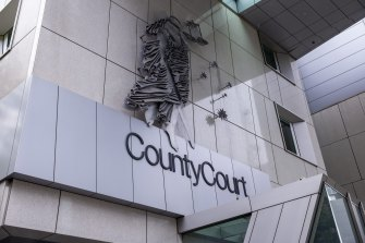 A County Court jury found the man guilty of nine counts of rape.