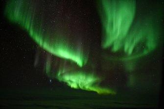 The phenomenon is also known as the Aurora Australis.