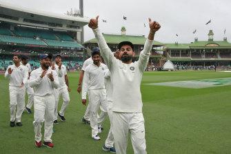 Virat Kohli's India defeated Australia during their last series here.