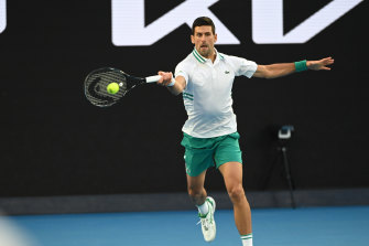 Djokovic had too many guns for Daniil Medvedev in the final.