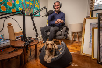 Mike Davis worked on mental health for the Victorian government and hosted a mental health podcast.