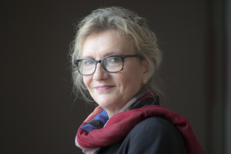 Elizabeth Strout told MWF's online audience that her character Olive Kitteridge just barged into her creative mind.