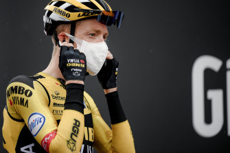 Team Jumbo-Visma's Steven Kruijswijk has also pulled out of the Giro d'Italia.