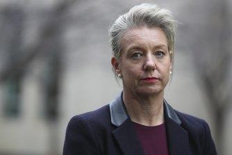 Nationals Minister Bridget McKenzie.