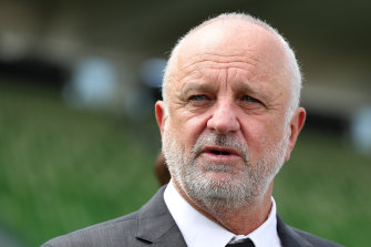 Socceroos boss Graham Arnold wants any national second division to be professional.