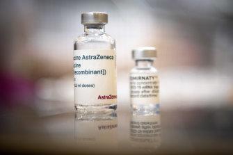 The AstraZeneca vaccine.